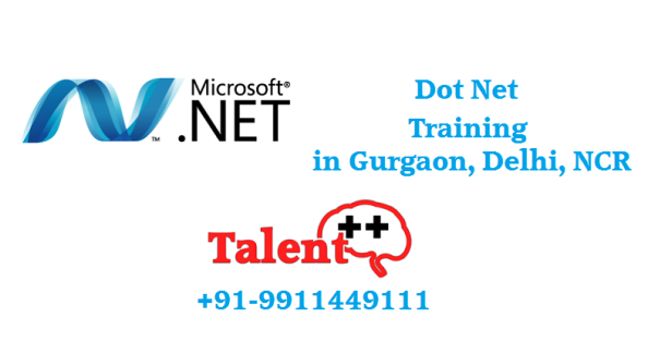 Dot Net Training Institute in Gurgaon