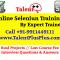 Online Selenium Training by Talent ++